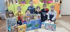 Games for students of olenegorsk orphanage